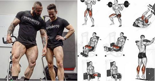 Work Leg: 5 Latihan Untuk Membentuk Otot Kaki